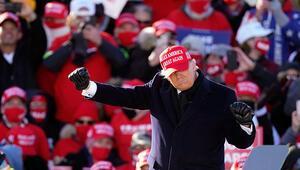 ABDde seçimlere son 2 gün Donald Trumptan yoğun miting trafiği