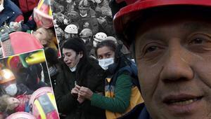 Son dakika: İzmirdeki depremde enkazdan 65 saat sonra çıkarılan Elifin kahramanı itfaiyeci Muammer Çelik o anları anlattı