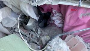 İşte 3 yaşındaki Elifin enkaz altında yaşama tutunduğu yer