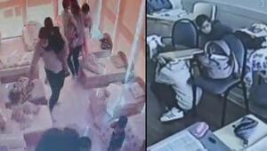 Son dakika haberleri... İzmirdeki depreme okulda yakalandılar Öğretmenler kucaklarında dışarıya çıkardı