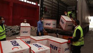 Elazığdan depremin yaşandığı İzmire yardımlar sürüyor
