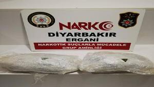 Erganide uyuşturucu operasyonu: 2 gözaltı