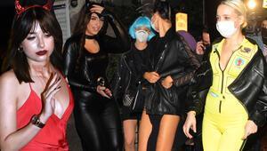 Sosyetenin Cadılar Bayramı partisine polis baskını
