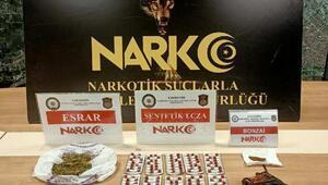 Eskişehir'de uyuşturucu hapla yakalanan şüpheli tutuklandı