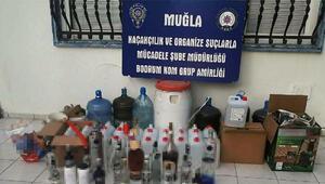 Muğladaki sahte içki ve kaçakçılık operasyonu şüphelilerinden 6sı tutuklandı