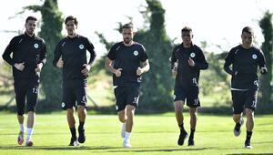 Konyaspor, Fenerbahçe maçının hazırlıklarına ara vermeden başladı
