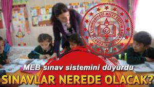 Son dakika haberleri: Sınavlar nasıl ve nerede yapılacak Yüz yüz eğitimde sınavların uygulanış yöntemi için MEBden açıklama