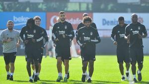 Beşiktaş, Gaziantep FK maçı hazırlıklarını sürdürdü
