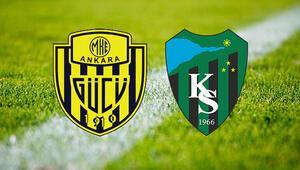 MKE Ankaragücü Kocaelispor maçı saat kaçta ve hangi kanalda