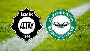 Altay Karatay Termal 1922 Konyaspor maçı saat kaçta ve hangi kanalda