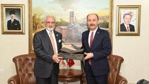 Kuveyt Büyükelçisi Zawawi Şanlıurfa'da