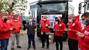 Tuzla'dan İzmir'e yardım eli