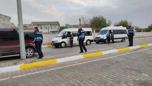 Diyarbakırda zabıtadan servis araçlarına sıkı denetim