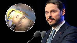 Hazine ve Maliye Bakanı Berat Albayrak paylaştı: Umudun adı Ayda bebek