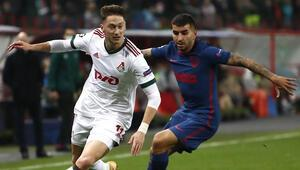 Lokomotiv Moskova 1-1 Atletico Madrid (Maç sonucu ve özeti)
