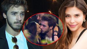 Oyuncu Dilara Aksüyek ve Onur Bay aşkı belgelendi Sevgilisini öpücüklere boğdu...