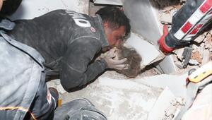 Son dakika haber: İzmir depreminin 91. saatinde Ayda enkaz altından sağ çıkmıştı.. Tüyleri diken diken eden detaylar