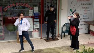 İstanbulda kırmızı reçeteli ilacı vermeyen eczaneciye kurusıkı tabancayla saldırdı