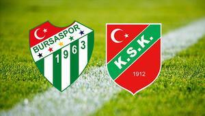 Bursaspor Karşıyaka maçı ne zaman saat kaçta ve hangi kanalda
