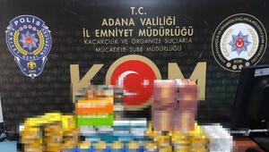 Adana'da kaçakçılık operasyonu: 12 gözaltı