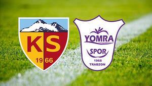 Hes Kablo Kayserispor Yomraspor maçı saat kaçta ve hangi kanalda