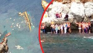 Alanyada tur teknesi batmıştı... Serbest bırakılan kaptan: Rüzgar çıkınca...