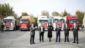 Ankara'dan ısıtan yardım