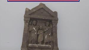 Afyonkarahisarda tarihi eser operasyonu