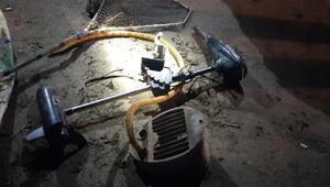 Elektroşok ile balık avlarken yakalanan 2 kişiye 20 bin TL ceza