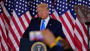 Son dakika... ABD Başkanı Trump: Biz seçimi kazandık, Yüksek Mahkemeye gidiyoruz | Video