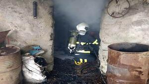 Kiliste odunluk yangını