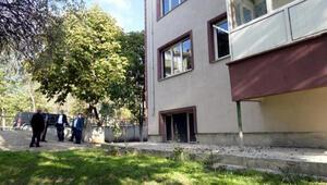 Edirnede kolonları zarar gören bina yıkılacak