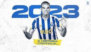 Son Dakika | Porto, Pepe ile sözleşmesini uzattı 2023...