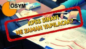 KPSS ortaöğretim ne zaman 2020 KPSS sınav belgesi ve sınav yeri sorgulama ekranı için gözler ÖSYMde