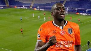 Son Dakika Haberi | Başakşehirde Demba Ba geceye damga vurdu Manchester United maçında tarihe geçti...