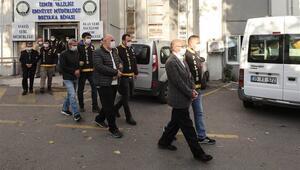Son dakika.. İzmirdeki depremde yıkılan binalarla ilgili gözaltına alınan  9 şüpheli adliyeye sevk edildi