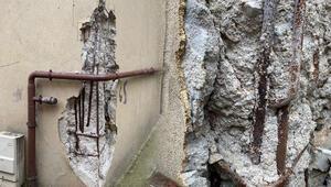 Son dakika haberi: İstanbulda büyük korku Beton kum gibi döküldü...