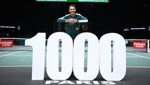 Rafael Nadal 1000ler kulübünde