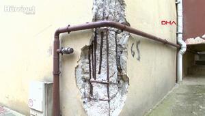 Kartalda riskli yapılarda deprem korkusu içinde yaşıyorlar