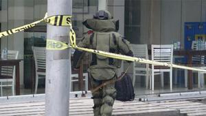 Sahipsiz çanta polisi harekete geçirdi, vatandaşlar görüntü çekme yarışına girdi