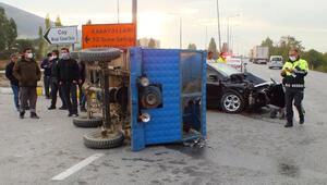 Kazada yaralanan patpat sürücüsü kurtarılamadı