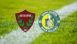 Atakaş Hatayspor Şanlıurfaspor maçı saat kaçta ve hangi kanalda