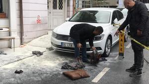Son dakika haberler: Beşiktaşta elektrik kablolarında patlama 2 işçi yaralandı...