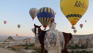Kapadokya bölgesini Ekim ayında 175 bin 612 turist ziyaret etti