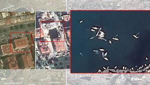 Son dakika... Felaketin boyutlarını gözler önüne serdi İzmir depremi 700 KM öteden görüntülendi