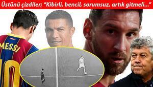 Son Dakika | Lionel Messinin olay görüntüsü İspanyada skandal oldu Taraftarın bile sabrı taştı...