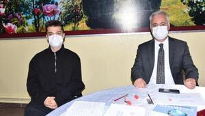 Vali Seymenoğlu, oğluyla amatör denizci sınavına girdi