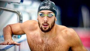 Milli yüzücü Emre Sakçı, kendine ait Avrupa rekorunu geliştirdi
