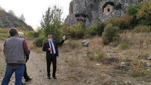 Thera Antik Kenti kültür turizmine kazandırılacak