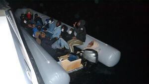 Dikilide bir gün arayla toplam 38 kaçak göçmen kurtarıldı